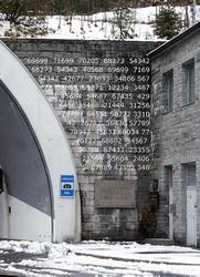 Nummern Transparent