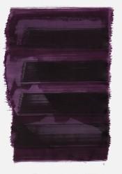 """""""Schrei 08:16 Uhr"""", 2015, Tusche auf Papier, 48 x 36cm (copyright: Konstanze Sailer)."""