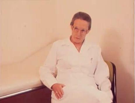 Maria Nowak-Vogl 1980, Foto Bernhard Domokosch, aus: teleobjektiv Sept. 1980