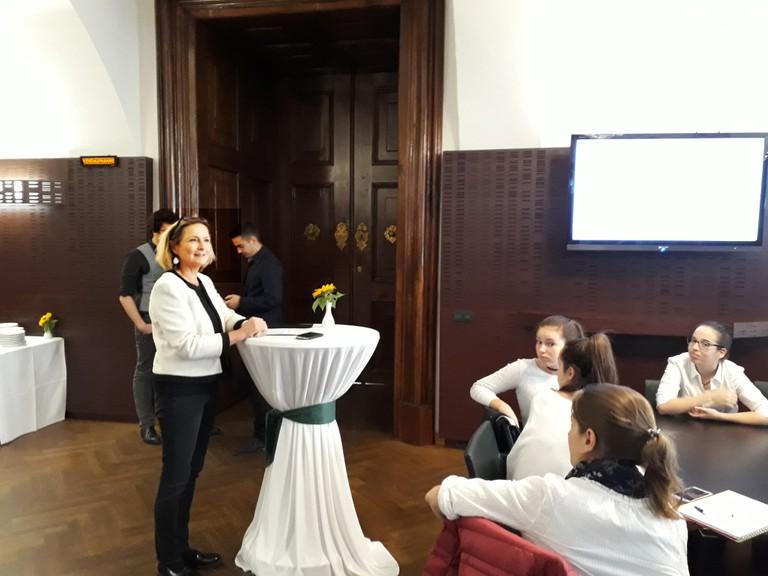 Kick-Off - Veranstaltung mit Frau Landtagspräsidentin Dr.in Bettina Vollath am 19. Oktober 2017