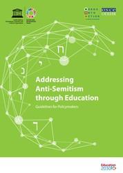"""Wie Antisemitismus durch Bildung vorbeugen? Das Handbuch der UNESCO """"Addressing Anti-Semitism through Education"""" bietet Richtlinien, _erinnern.at_ war an der Entwicklung des Handbuchs beteiligt."""