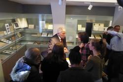SchülerInnen der HAK Bregenz besuchten den Vortrag im Jüdischen Museum Hohenems. (Foto: Moritz Wein)