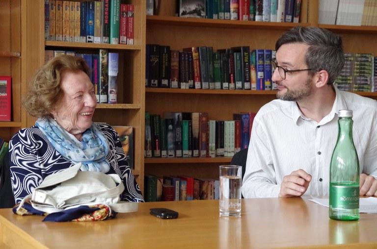 ZeitzeugInnen-Gespräch an einer Berufsschule in Wien