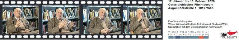 Das Wiener Wiesenthal Institut (VWI) zeigt an sechs Nachmittagen Video-Interviews mit Simon Wiesenthal.