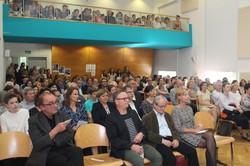 Die Veranstaltung zur Enthüllung der Gedenktafel war sehr gut besucht