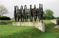 Auch die zahlreichen Denkmäler der Gedenkstätte sind auf der virtuellen Tour erfasst. Hier im Bild das ungarische Denkmal (BMI/Fotoarchiv der KZ-Gedenkstätte Mauthausen/Foto: Stephan Matyus)