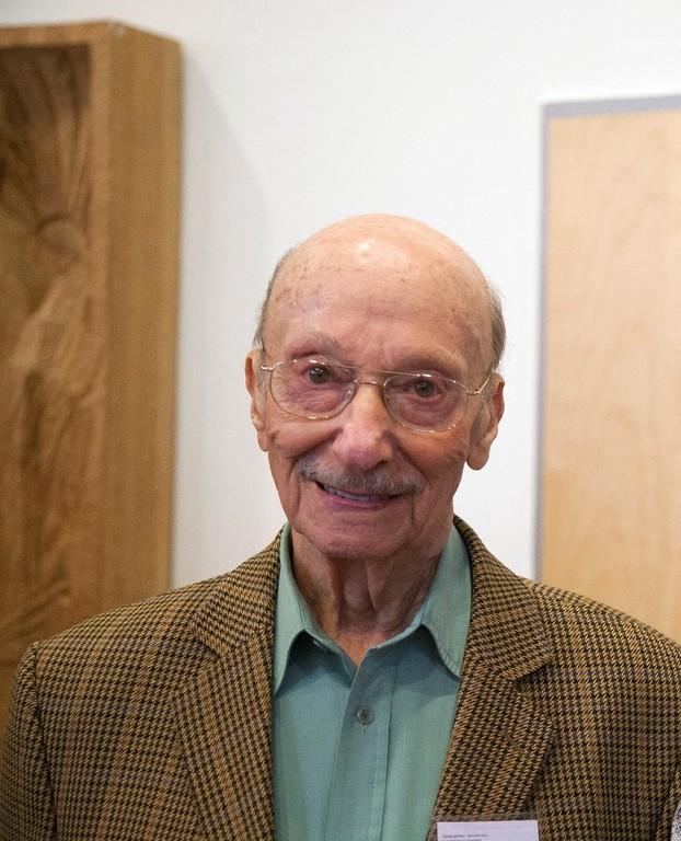 Paul Grünberg besuchte bis ins hohe Alter Schulklassen.
