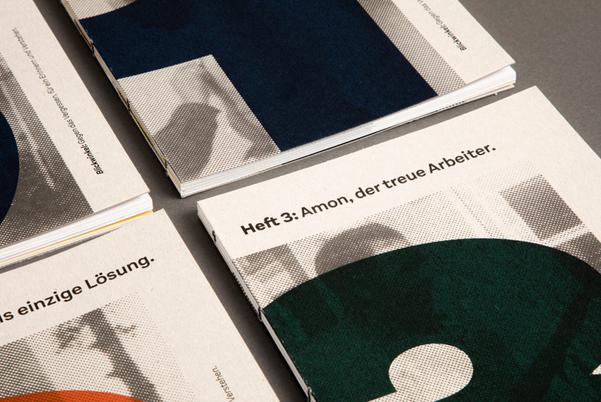 Bachelorprojekt der Medien- und Grafikdesignerin Sarah Wehinger.