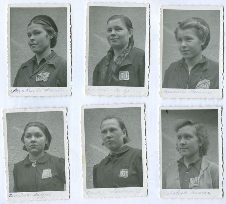 Ukrainische Zwangsarbeiterinnen in Tirol