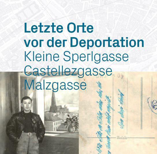 Ausstellung: Letzte Orte vor der Deportation Flyer