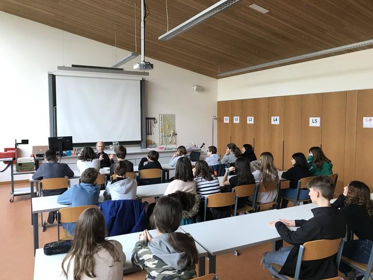 Herbert Pruner vermittelte neben der Geschichte von Samuel Spindler detailierte Einsichten in die NS-Geschichte Vorarlbergs. (Foto: Johannes Spies)