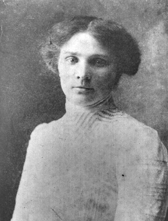 Leopoldine Zankl , ermordet in Schloss Hartheim (Foto Karl Nemec).JPG