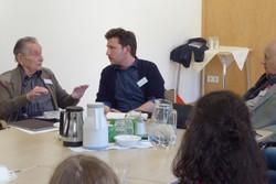 Marko Feingold im Gespräch mit LehrerInnen (2017)