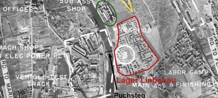 Luftbild Lager Liebenau