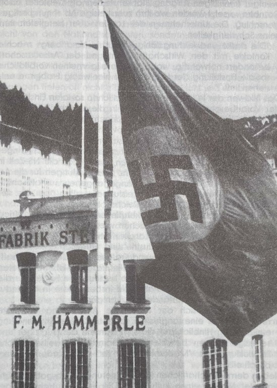 Die Firmenzentrale von F. M. Hämmerle in Dornbirn-Steinebach. (Quelle: Johann-August-Malin-Gesellschaft)