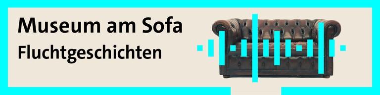 Logo Museum am Sofa
