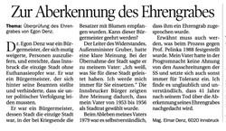 Leserbrief Elmar Denz zur Aberkennung des Ehrengrabs für seinen Vater, TT, 27.1.2021, 29.jpg