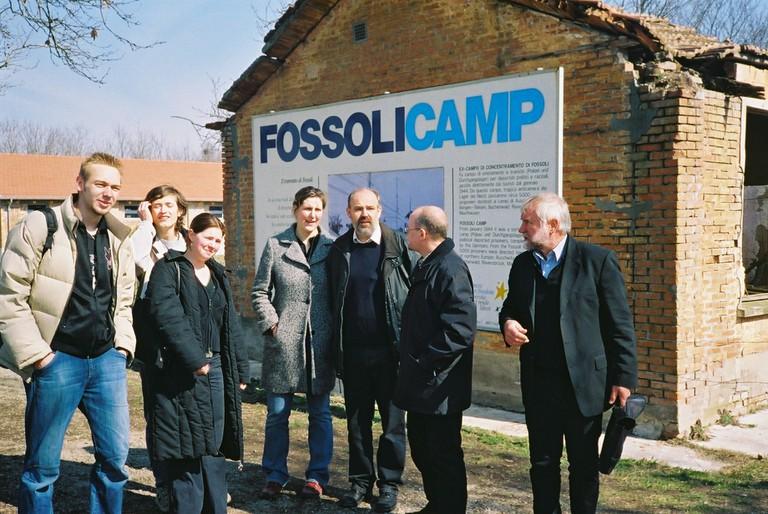 Besuch  der Gedenkstätte Fossoli/Italien