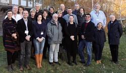 Das ExpertInnen-Team auf Arbeitssitzung in Belgrad.