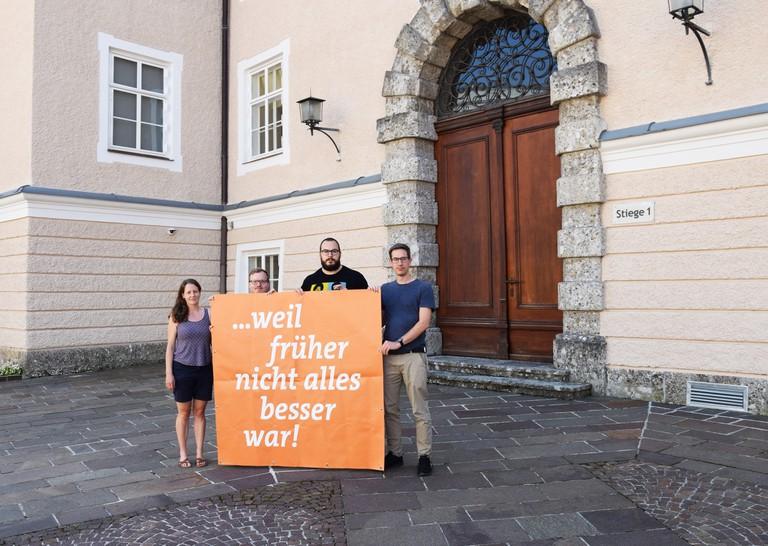 Foto der Aktion im Chiemseehof