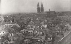 Innere Stadt von Wiener Neustadt 1945