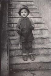 Kindergartenkind in WN als Soldat 1939-45
