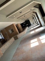 Ehemaliger Ausstellungsbereich der österreichischen Gedenkstätte im Erdgeschoß von Block 17, Auschwitz 11. September 2019. Foto: Nationalfonds