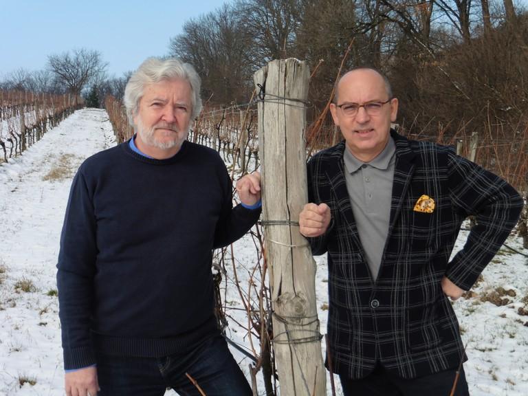 Bernhard Herrman und Robert Streibel