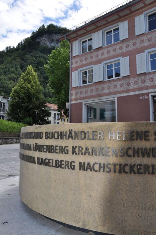 Brunnen Jüdisches Viertel Hohenems