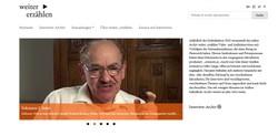 Derzeit finden sich 100 Video-Interviews mit Verfolgten des Nationalsozialismus aus elf Sammlungen bzw. Archiven frei zugänglich auf weiter_erzählen.