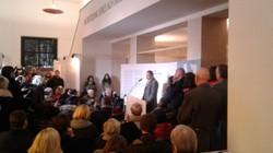 Kulturminister Thomas Drozda eröffnet die Ausstellung
