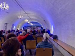Die Buchpräsentation fand am 23. September 2021 im der Aula Bernardi im Kloster Mehrerau in Bregenz statt. (Foto: Johannes Spies)