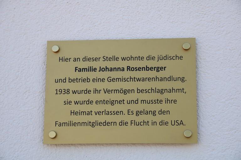 Gedenktafel Eltendorf
