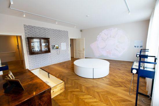 Ausstellungsansicht Hacker Haus