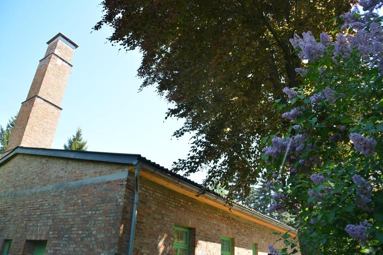 Die Gedenkstätte befindet sich im ehemaligen Krematorium © Melk Memorial