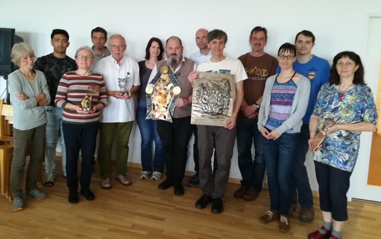 SeminarteilnehmerInnen in Bad Traunstein
