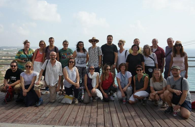 TeilnehmerInnen des 32. Israel-Seminar im Norden Israels.