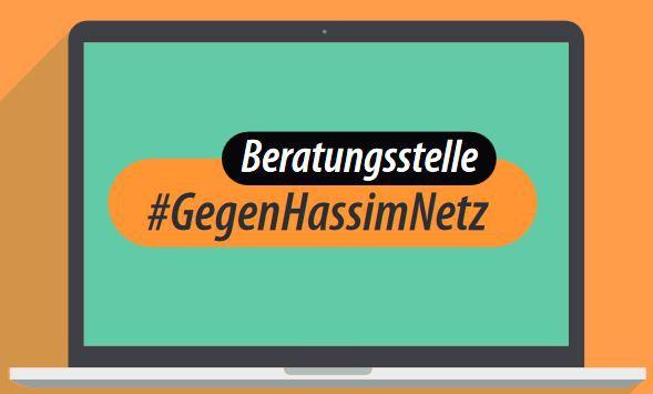 Die Beratungsstelle #GegenHassimNetz bietet Beratungen für Betroffene.