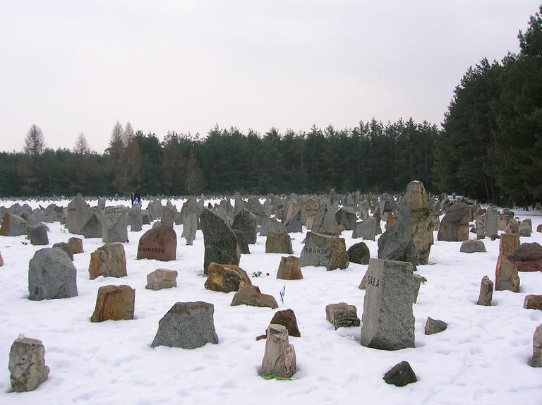 Gedenkstätte Treblinka  (CC Wikipedia))