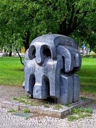 Treblinka-Denkmal in Berlin.