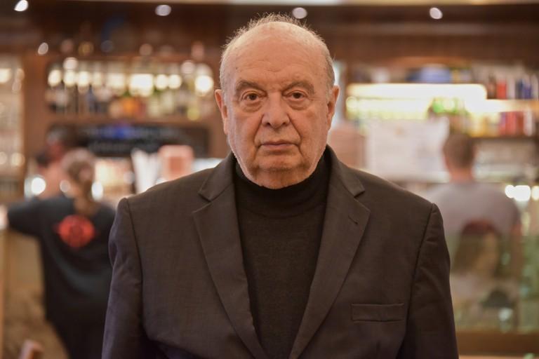 Prof. Rudolf Gelbard (1930 – 2018) Foto: Christian Michelides CC 4.0