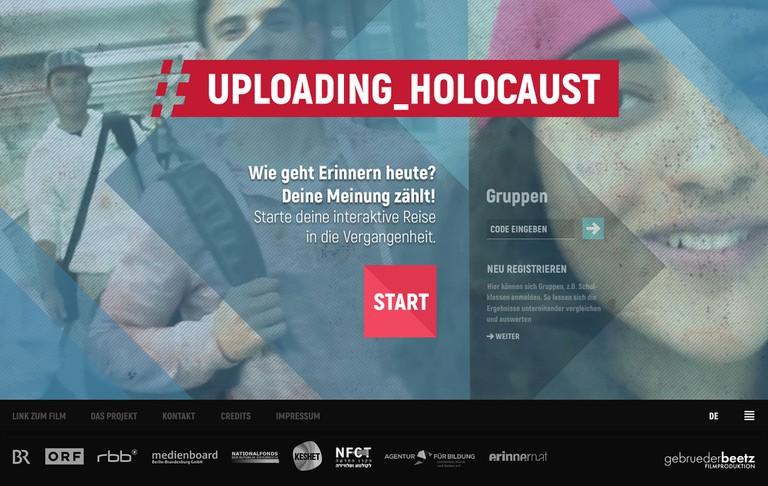 Website #Uploading_Holocaust