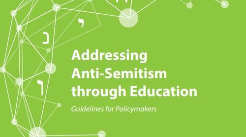 Handbuch von ODIHR und der UNESCO zu Bildungsarbeit über Antisemitismus