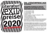 Exil-Literaturpreise 2020 -  Jugend- und Schulklassenwettbewerb