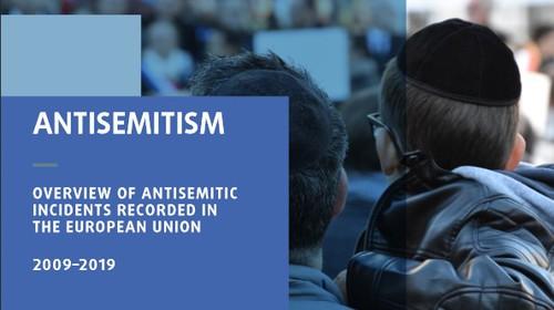 FRA veröffentlicht Überblick über die erfassten antisemitischen Vorfälle in der Europäischen Union 2009 bis 2019