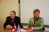 BM Schmied unterzeichnet Memorandum of Understanding mit der International School for Holocaust Studies in Yad Vashem