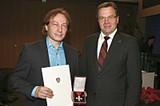 Univ.-Doz. Dr. Horst Schreiber erhielt das österreichische Ehrenkreuz für Wissenschaft und Kunst