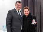 Großes Goldenes Ehrenzeichen des Bundesverbandes der IKG Österreichs für Martina Maschke